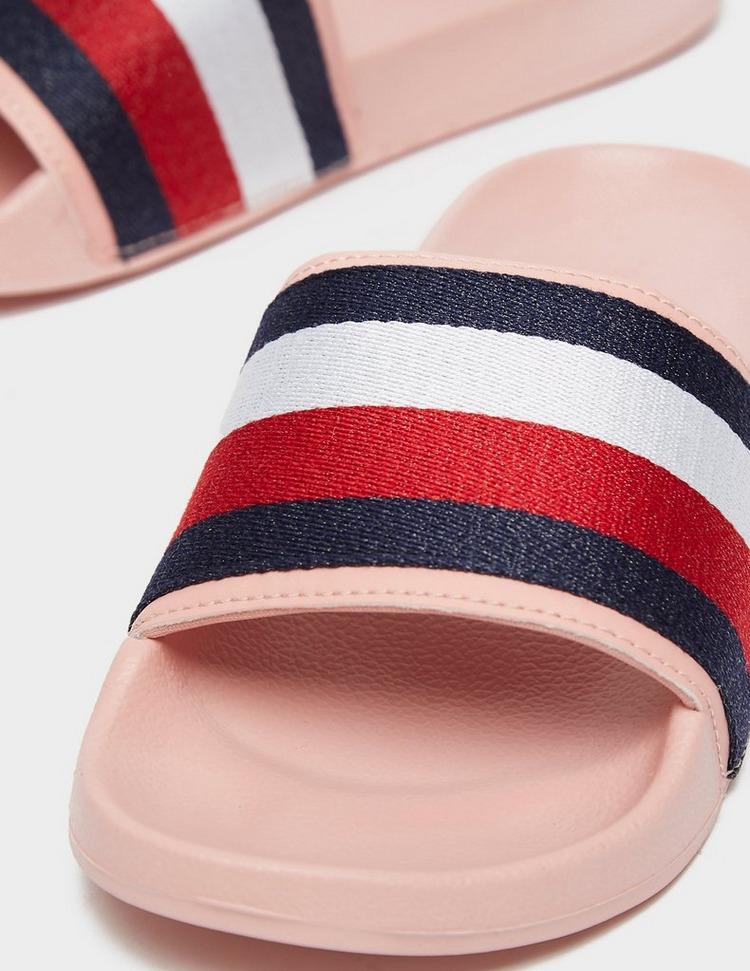 Tommy Hilfiger Shimmer Ribbon Slides