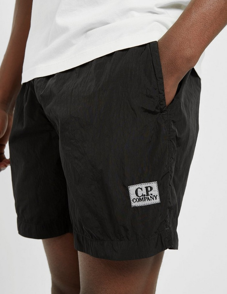 CP Company Logo Chrome Swim Shorts