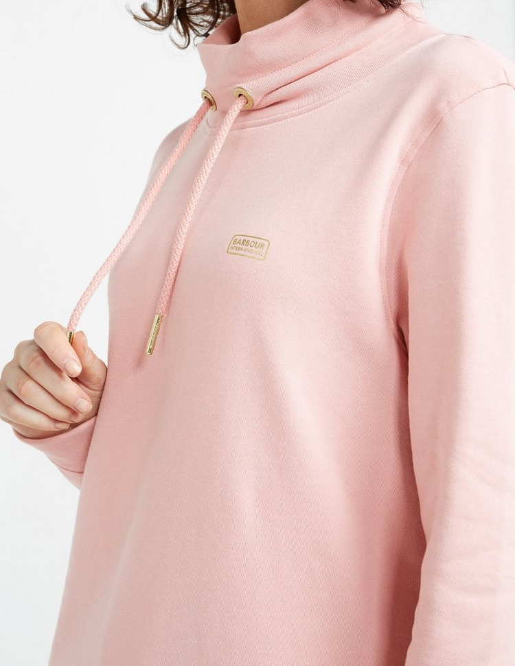Barbour International Pedal Overlay Track Top