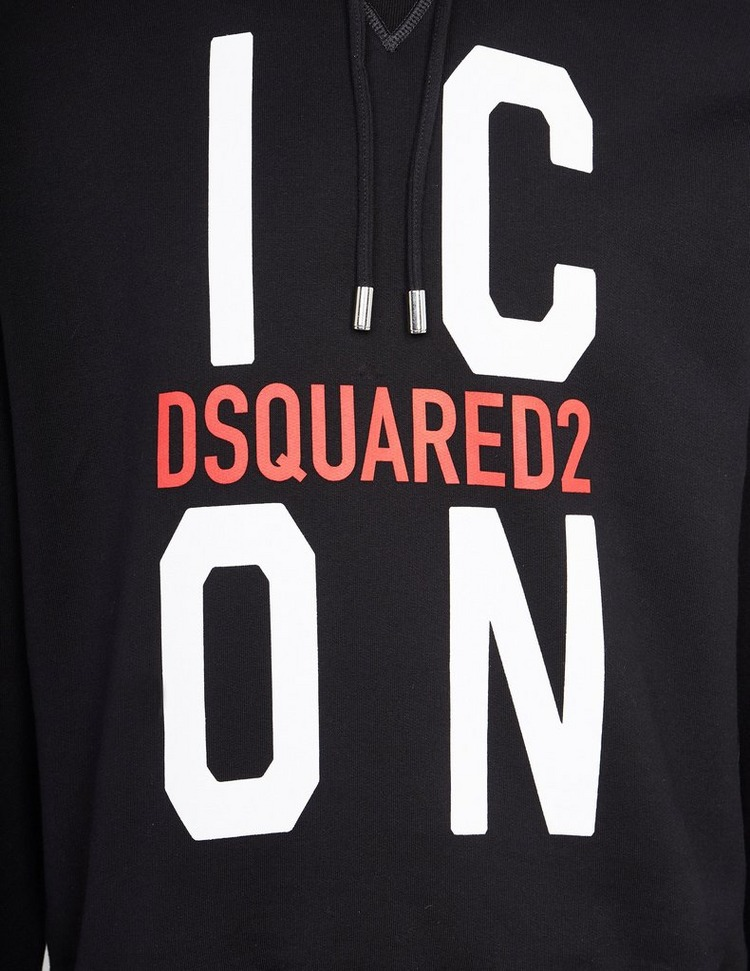 Dsquared2 Icon Vertical Logo Hoodie