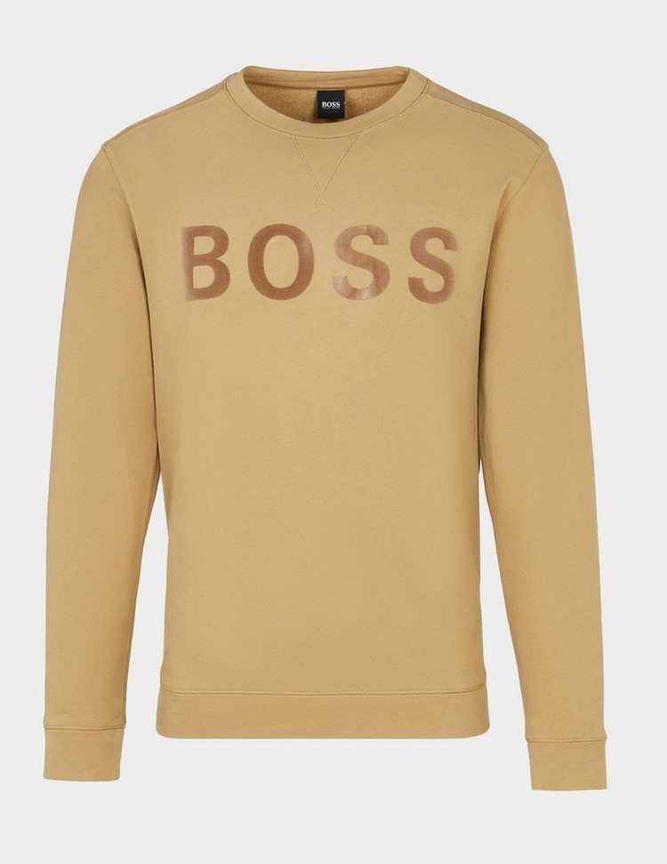 BOSS Weefast Crew Sweatshirt