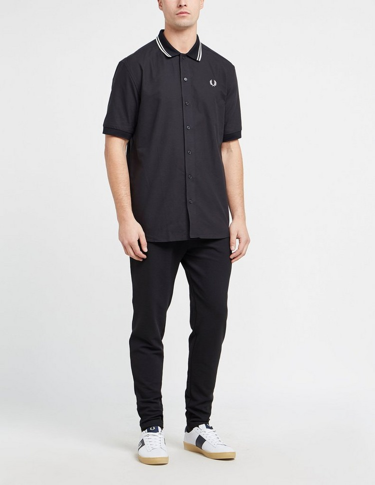 Fred Perry Flat Knit Collar Short Sleeve Shirt