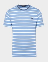 Fred Perry Striped Pique Short Sleeve T-Shirt