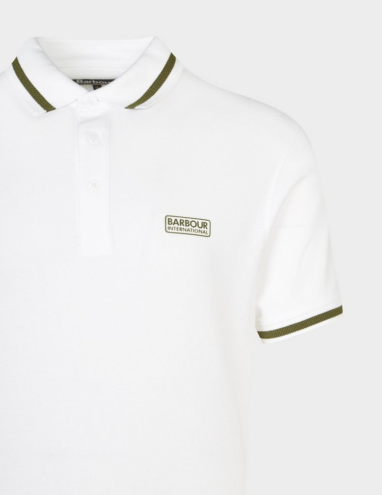 Barbour International Grid Tipped Polo Shirt