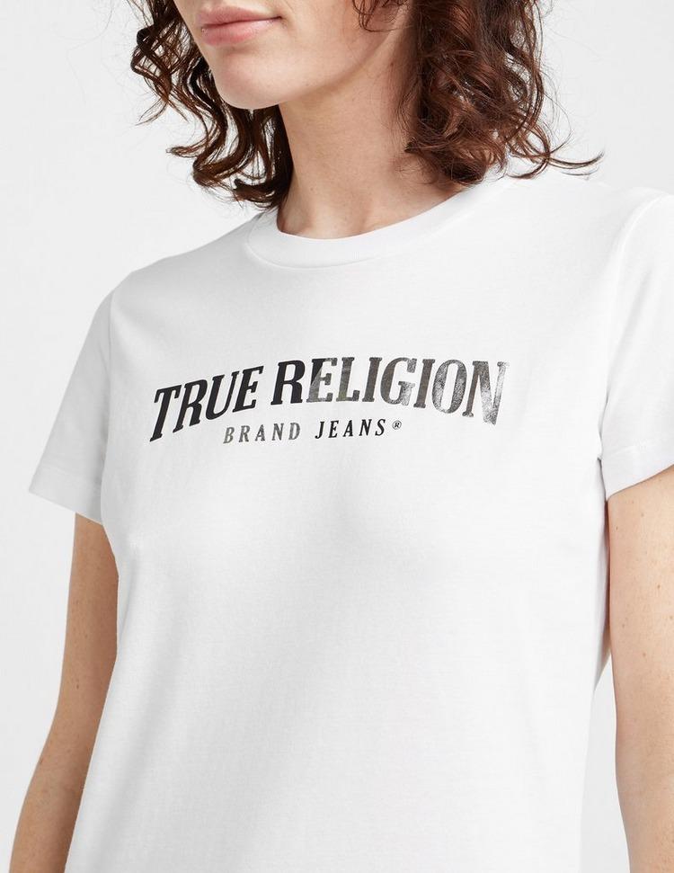 True Religion Split Crew T-Shirt