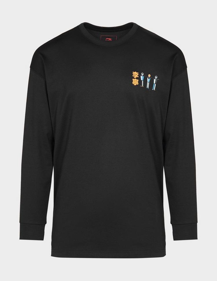Li Ning Figure Print T-Shirt