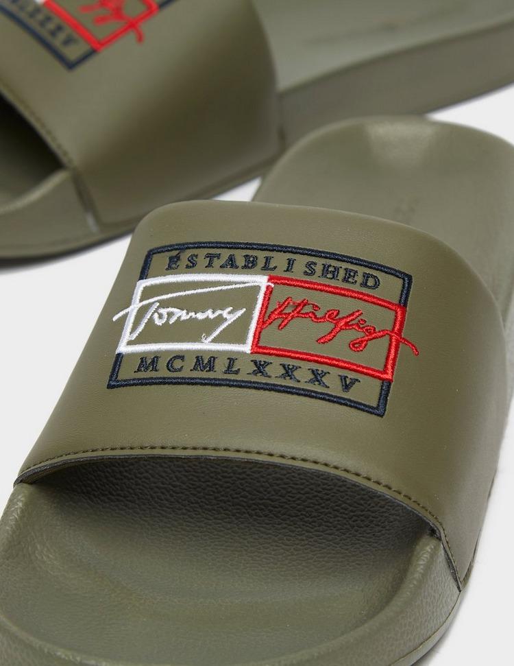 Tommy Hilfiger Signature Logo Slides