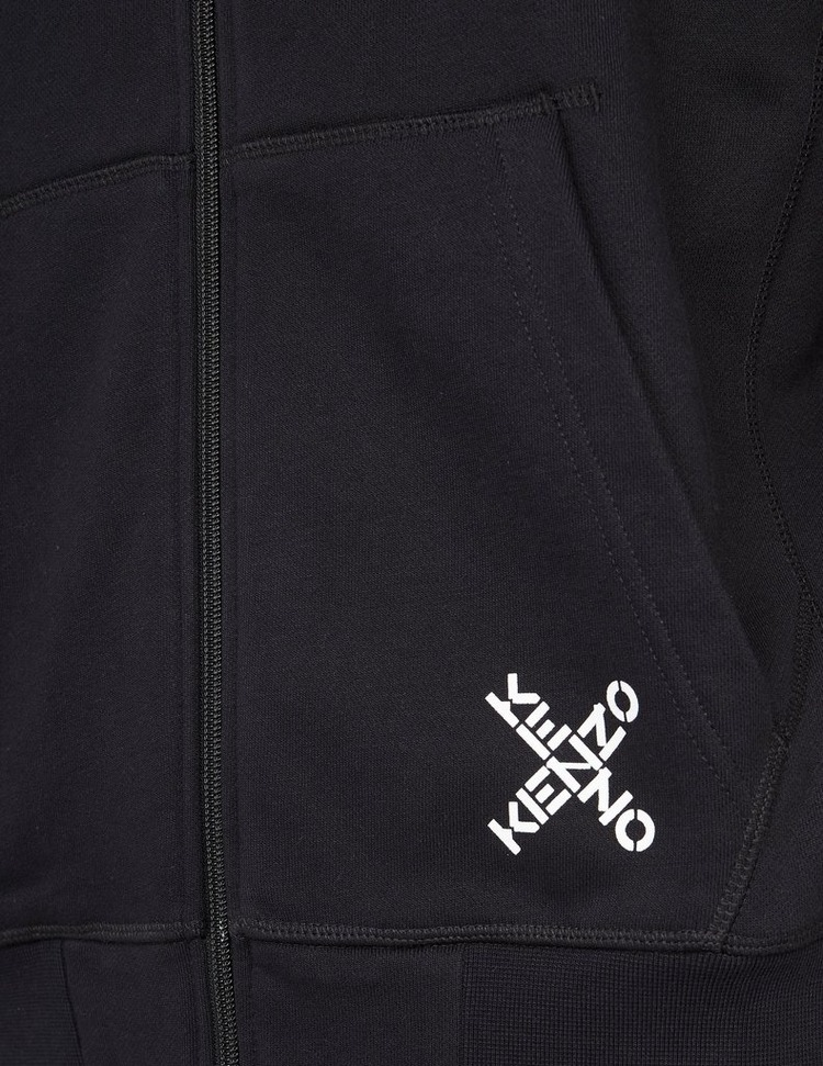 KENZO Small Cross Logo Hoodie