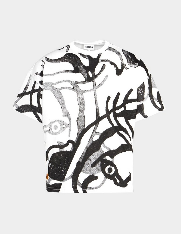 KENZO All Over Print Tiger T-Shirt