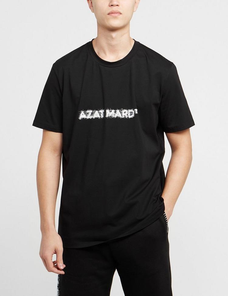 Azat Mard Front Spray Logo T-Shirt