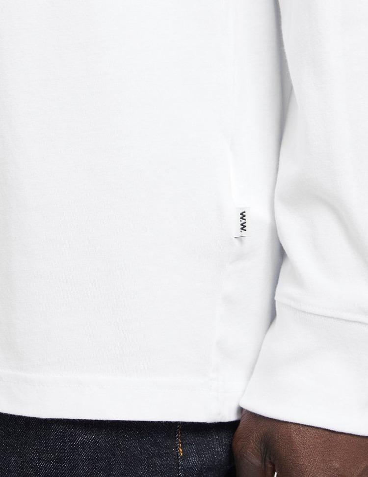 Wood Wood Mark Front & Back T-Shirt