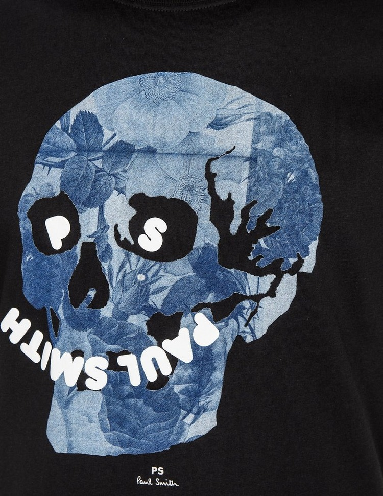 PS Paul Smith Floral Skull T-Shirt