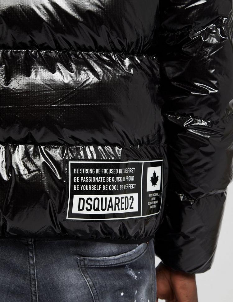 Dsquared2 Logo Gloss Puffa Jacket