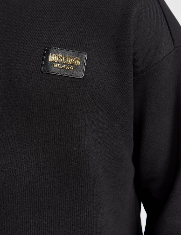 Moschino Gold Badge Sweatshirt