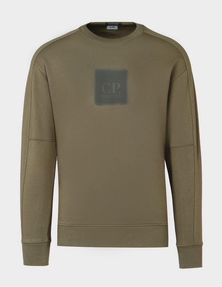 CP Company Met Large Badge Sweatshirt