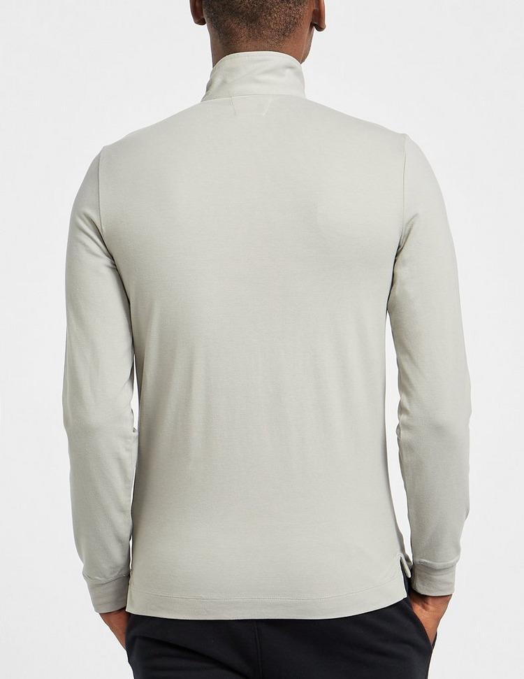CP Company Zip Funnel Neck Polo Shirt