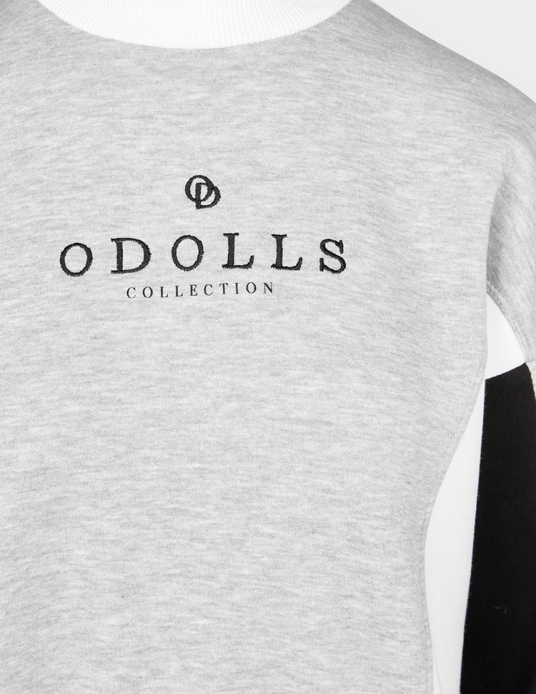 ODolls Collection Contrast Block Sweatshirt