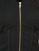 ODolls Collection Structured Ribbed Zip Hoodie