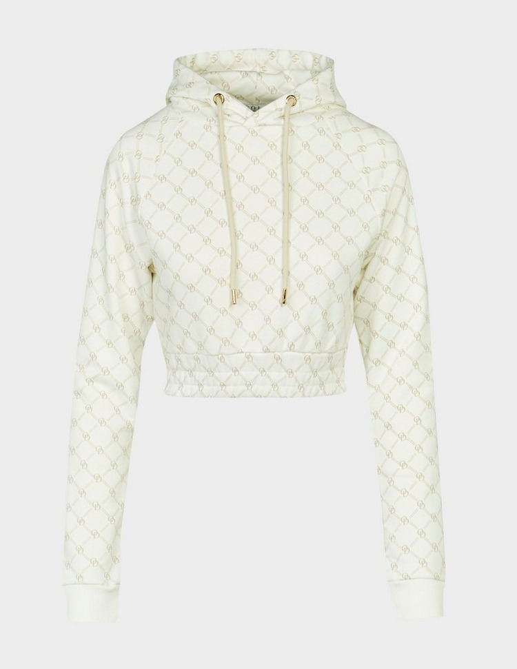 ODolls Collection Chloe Monogram Cropped Hoodie