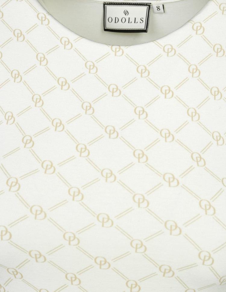 ODolls Collection Monogram Sleeveless Dress