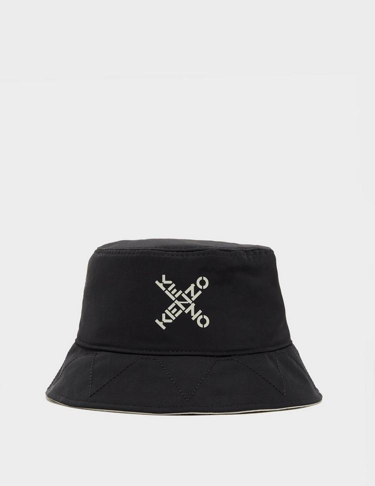 KENZO Cross Logo Reversible Bucket Hat