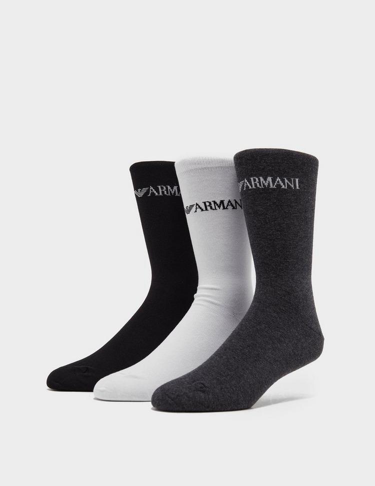 Emporio Armani Loungewear 3 Pack Socks