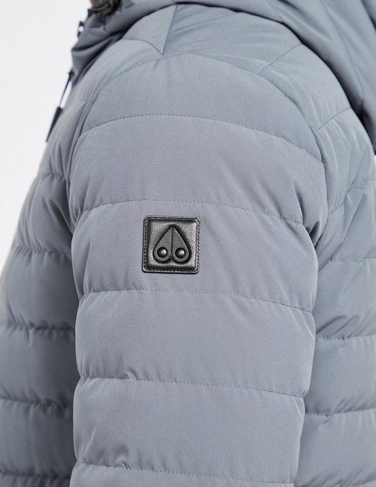 Moose Knuckles Crest Light Weight Hooded Jacket