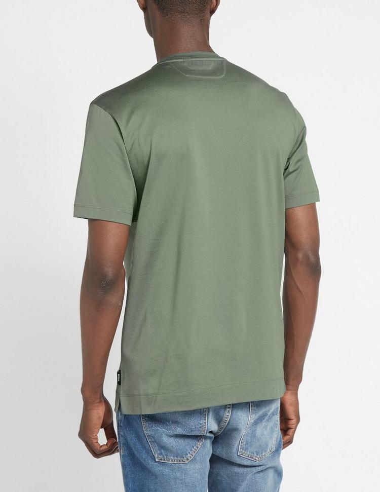 Z Zegna Text Stripe Logo T-Shirt