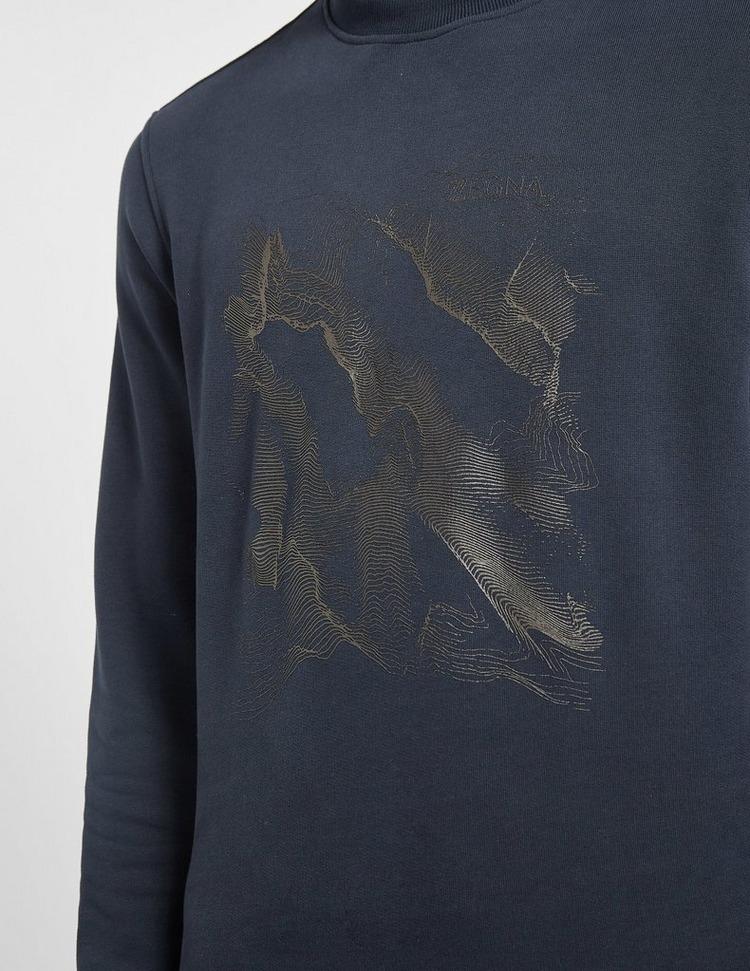 Z Zegna Mountain Scan Sweatshirt