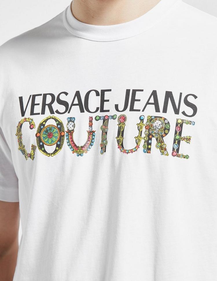 Versace Jeans Couture Gem Text T-Shirt