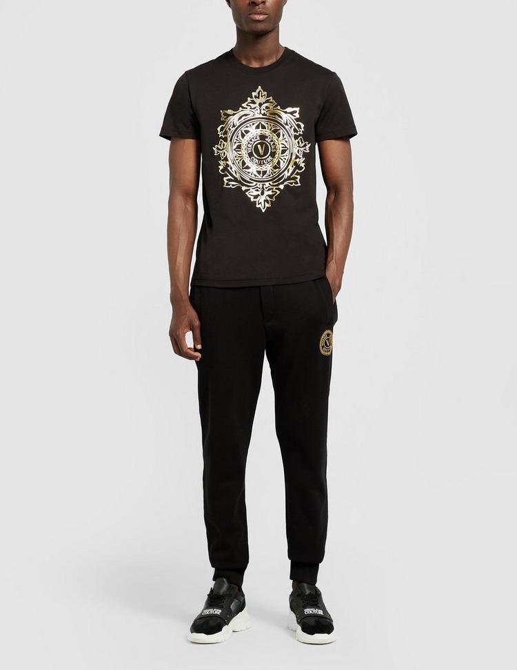 Versace Jeans Couture V Leaf Gold Logo T-Shirt