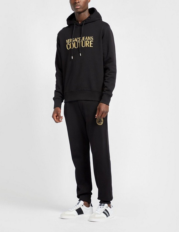 Versace Jeans Couture Gold Text Hoodie