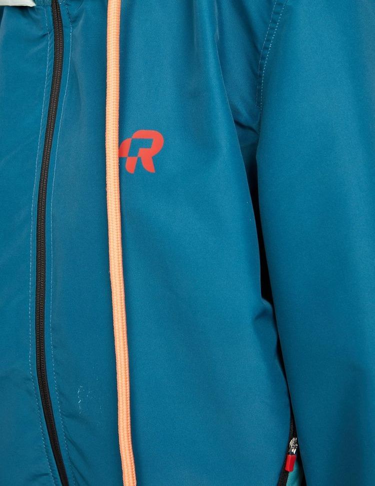 Red Run Activewear Short Waterproof Jacket