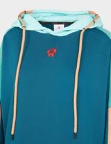 Red Run Activewear Oversized Drop Shoulder Hoodie