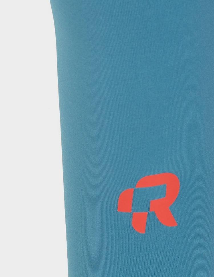 Red Run Activewear Perky Belt Short Leggings