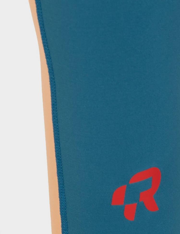 Red Run Activewear Sculpted Panel Short Leggings