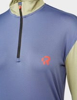 Red Run Activewear Technical Sports 1/4 Zip Track Top