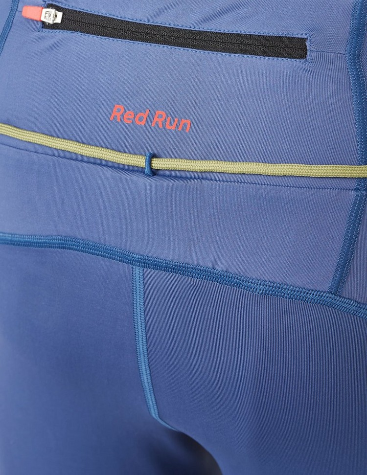 Red Run Activewear Perky Belt Short Leggings