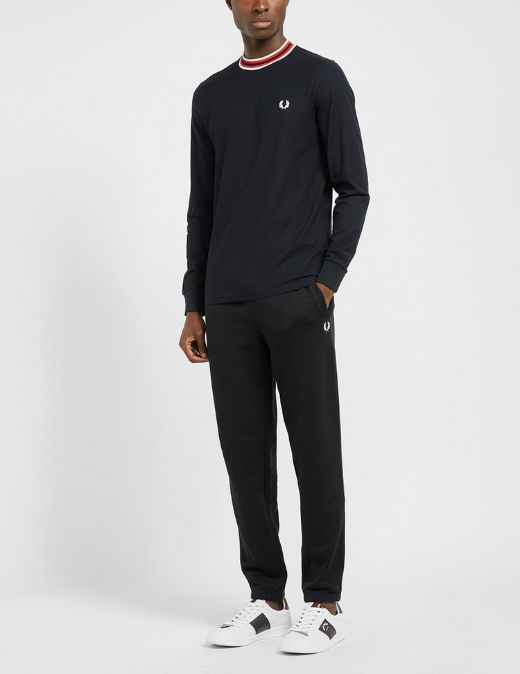 Fred Perry Refined Pique Long Sleeve T-Shirt