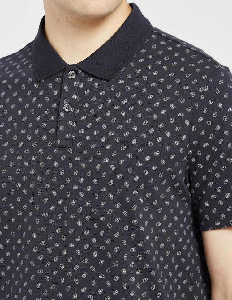Michael Kors All Over Paisley Polo Shirt