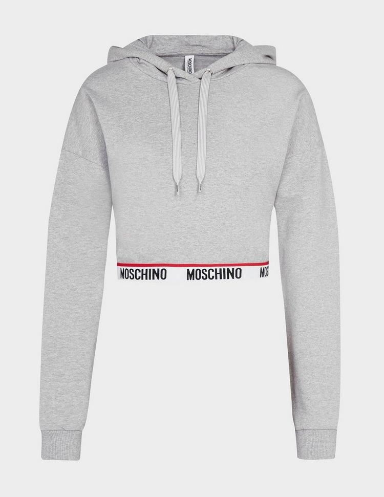 Moschino Tape Crop Hoodie