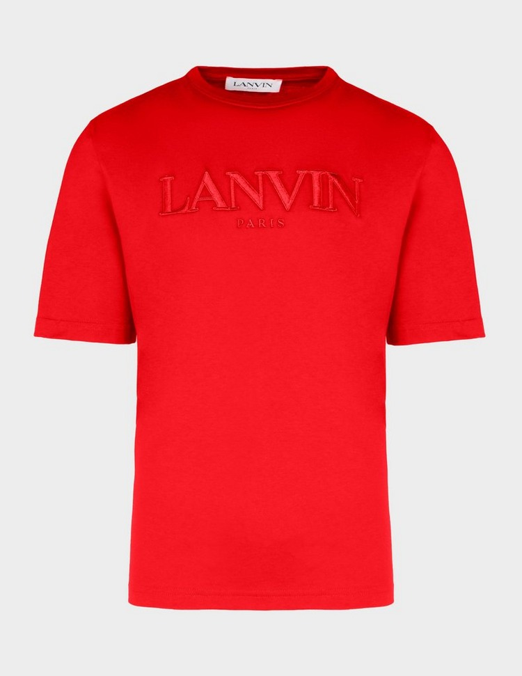 Lanvin Embroidered Logo T-Shirt