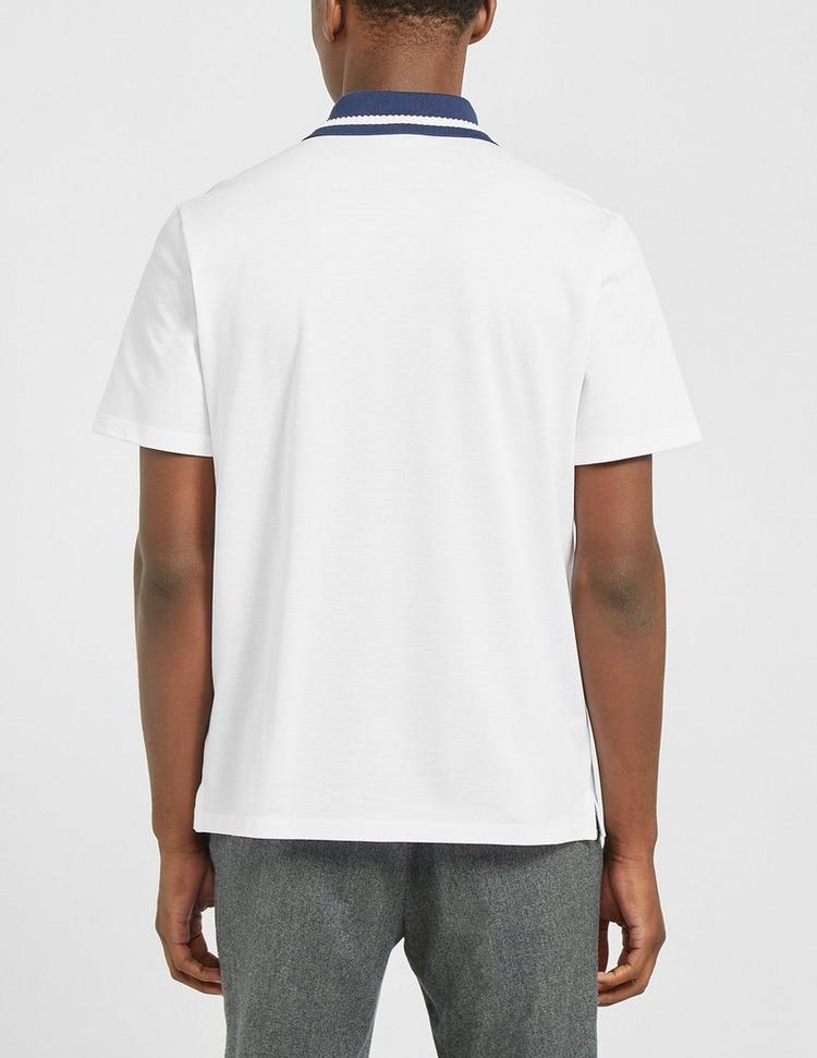 Lanvin Logo Tipped Polo Shirt