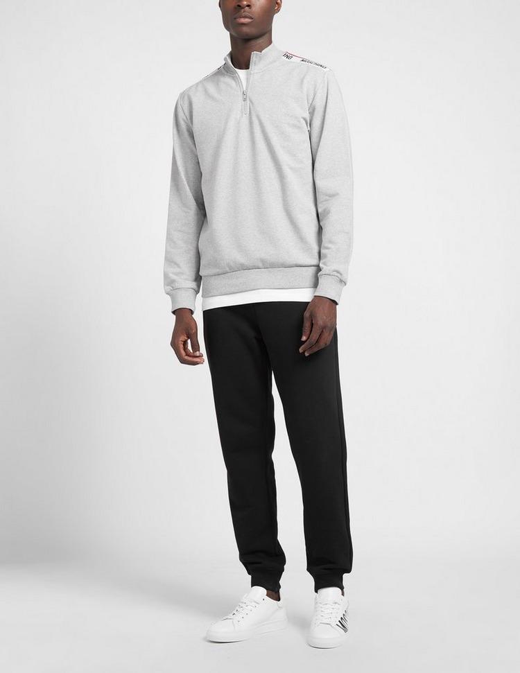 Moschino Tape 1/4 Zip Sweatshirt