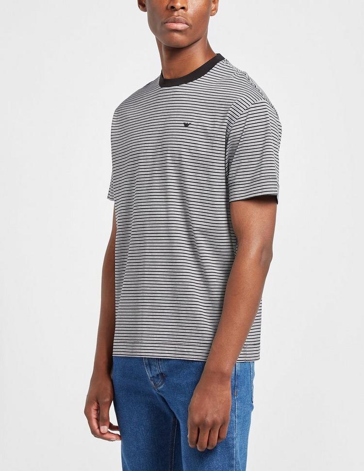 Emporio Armani Merc Mini Stripe T-Shirt