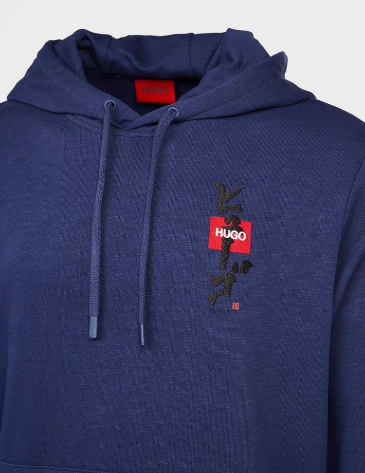 HUGO Doplin Embroidered Hoodie