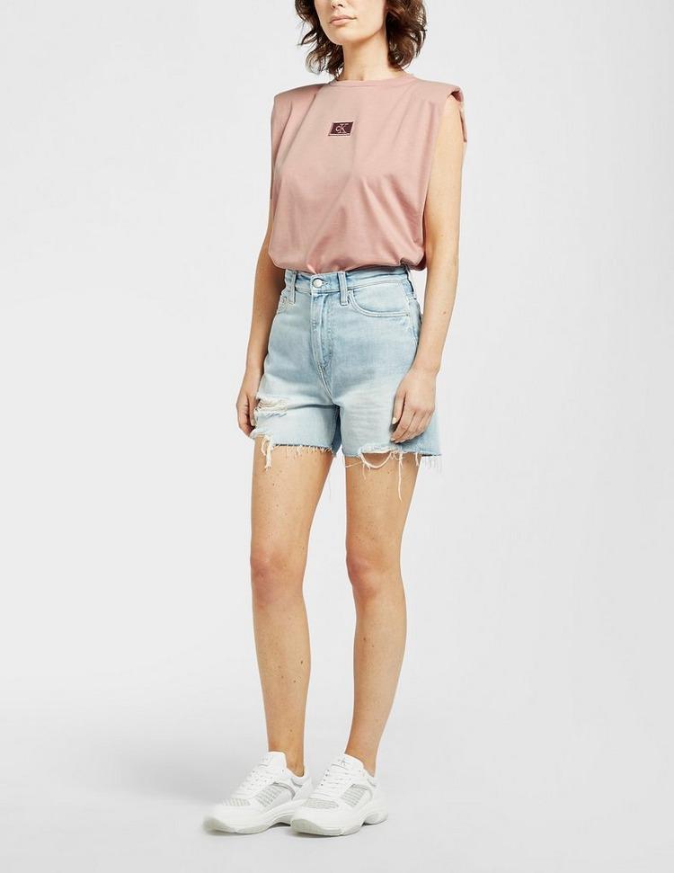 Calvin Klein Jeans Shoulder Pad Tank Top