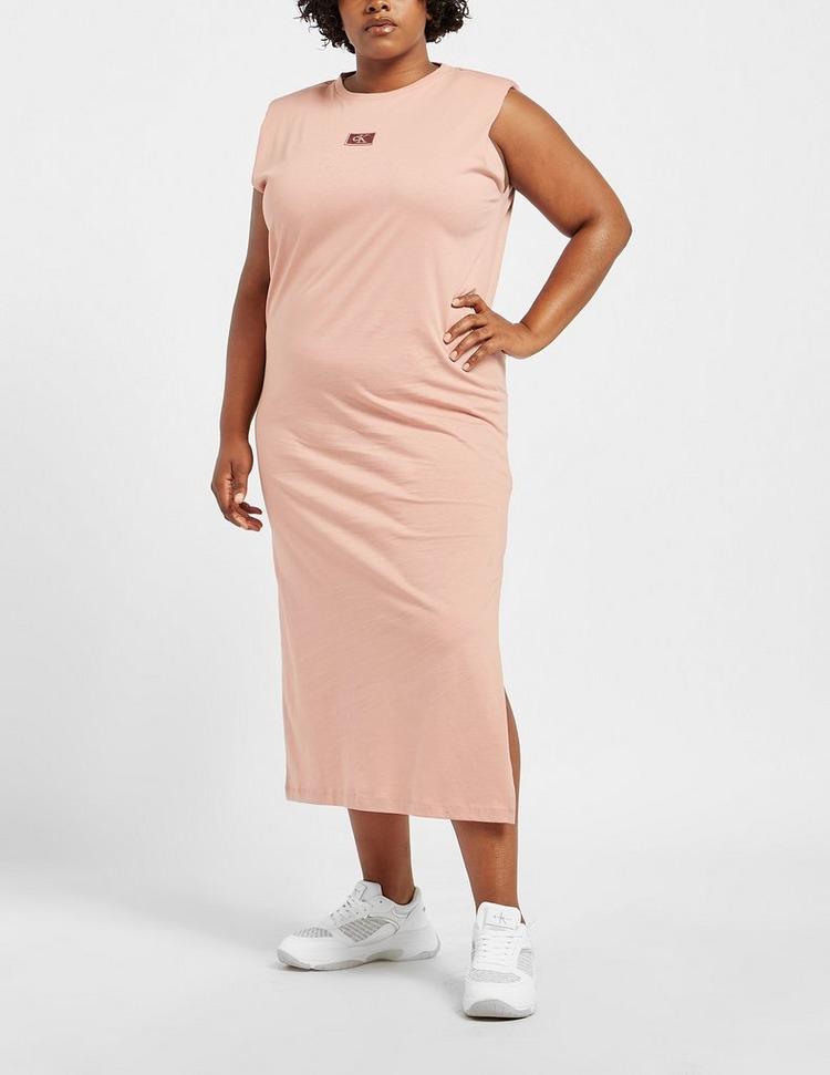 Calvin Klein Jeans Curve Shoulder Pad Dress