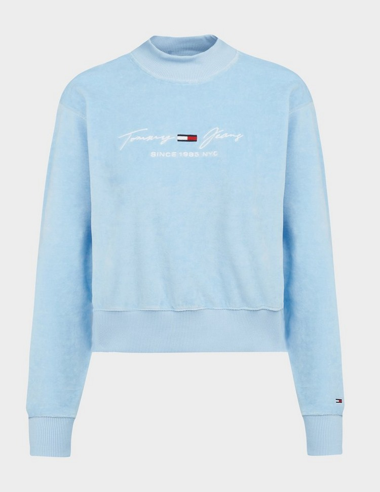 Tommy Jeans Velour Sweatshirt