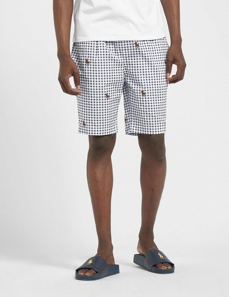 Polo Ralph Lauren Underwear Check Sleep Shorts